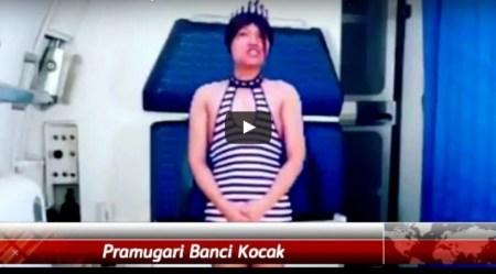 ViDEO LUCU: Banci Obsesi Jadi Pramugari