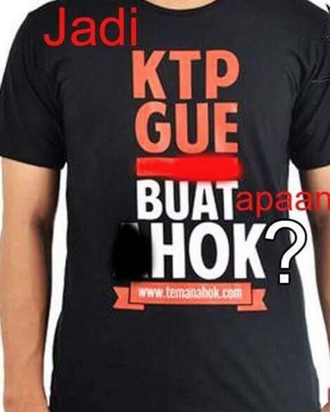 Meme Balikin KTP Gue, Hok?