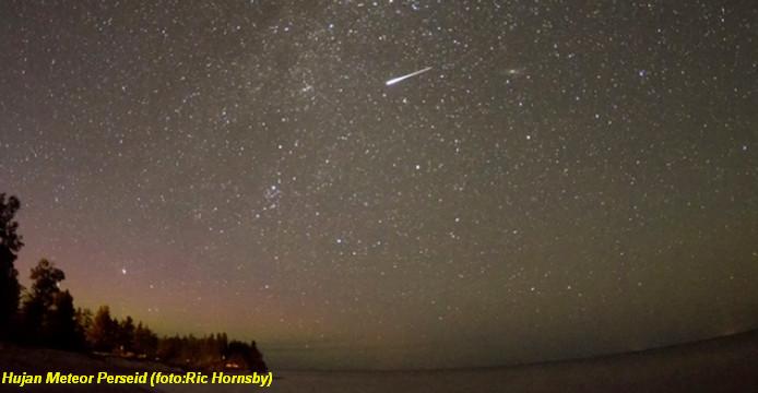 Malam Ini, 200 Meteor Hiasi Langit Setiap Jam