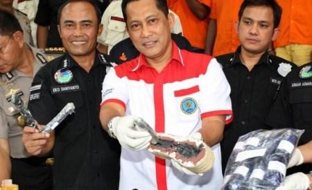 Tiru Filipina, BNN Ingin Gembong Narkoba Ditembak Mati